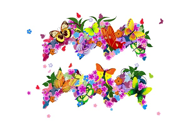 Over bloemetjes en bijgeloof
