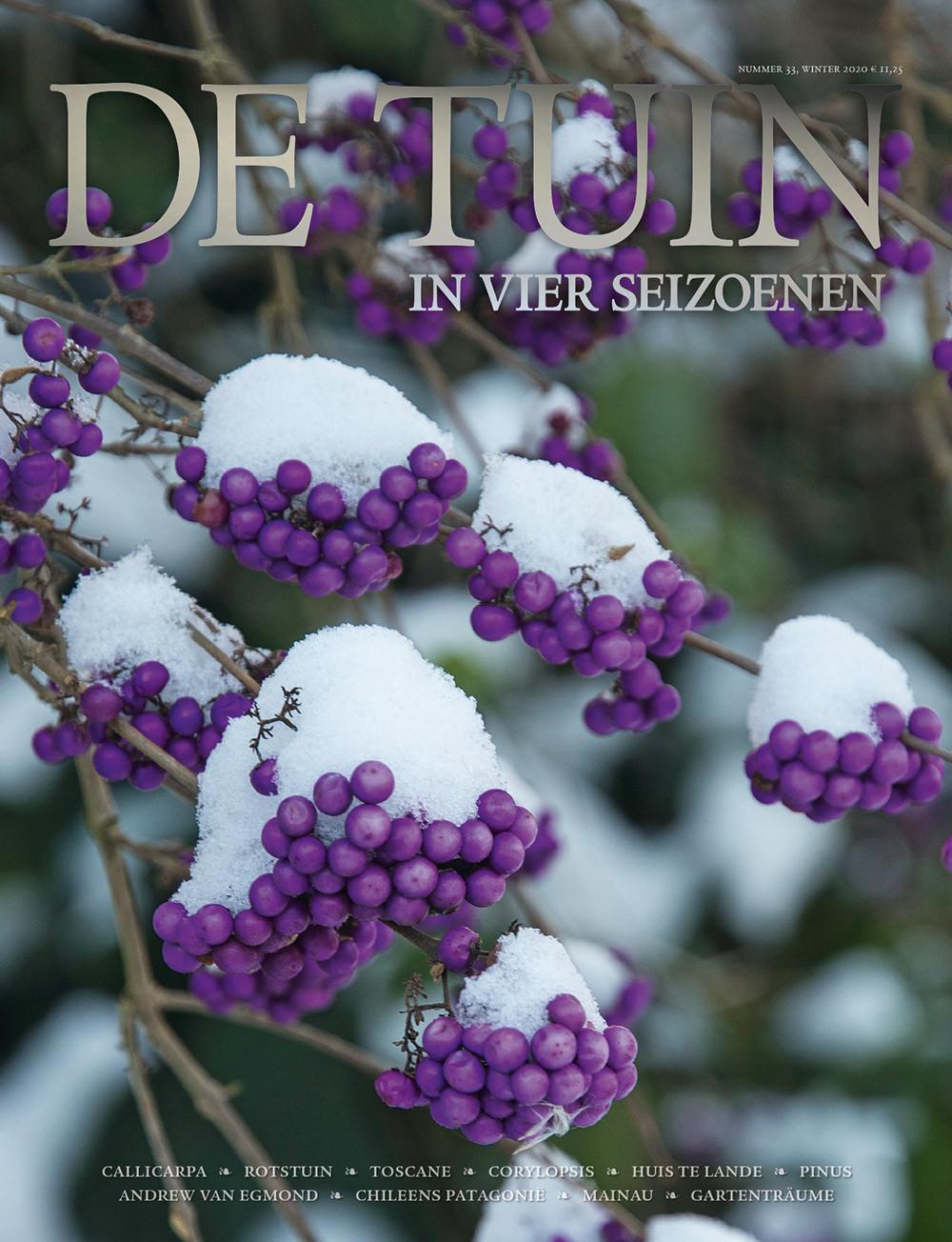 Artikel De Tuin in vier seizoenen